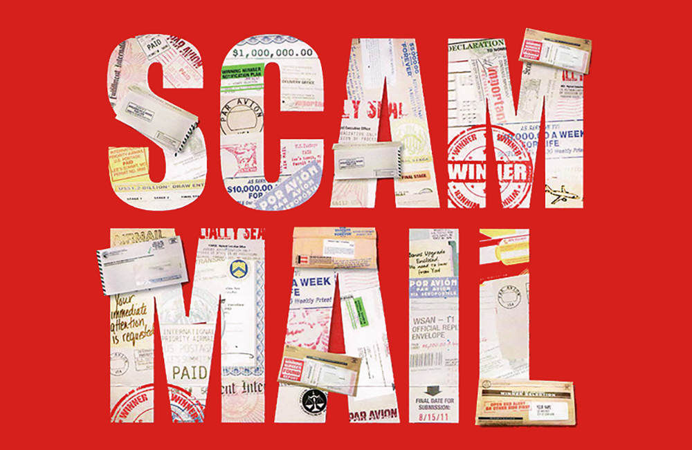 Scam Mail Advice from Royal Mail